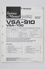 PIONEER VSA-910/700 AV Digital Surround Amplifier Service-Manual/Schaltplan! o72