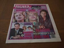 Farrah Fawcett RICHES & CELEBRES French Canadian newspaper magazine RARE Madonna