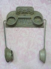 Antique House Parts Hardware Cast Iron Sensible Toilet Paper Holder Rochester NY