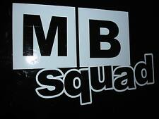 MB Squad Sticker Aufkleber Civic MB2 MB3 MB6 JDM