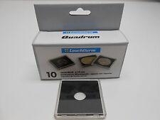 14mm - 10 Quadrum Square Coin Capsule Holders for 1/20oz Gold Panda & Maple Leaf