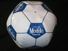 Modelo Especial Soccer Ball Inflatable Beer Blow Up sign bar beach Pool Negra
