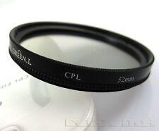 52mm CPL Circular Polarizing lens Filter for nikon D3200 D3100 D5100 D5200 18-55