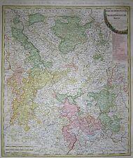Der Churrheinische- oder Niederrheinische Kreis - Güssefeld bei Homann - 1789