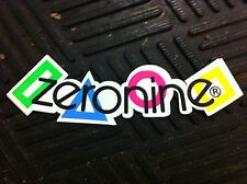 Old School BMX ZERONINE VISOR/HELMET STICKER (NOS)