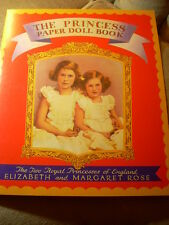 THE PRINCESS PAPER DOLL BOOK Queen Elizabeth UNCUT B Shackman HIGHLY COLLECTIBLE