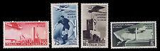 1934 ITALY #C62-65 2ND WORLD SOCCER CHAMP. WM140 - OGLH - VF - CV$133.50(E#1393)