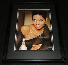 Halle Berry 2011 Reveal Fragrance Framed 11x14 ORIGINAL Advertisement