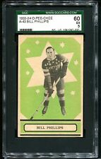 1933 O-Pee-Chee OPC V304A  BILL PHILLIPS #43 RC Rookie Card    SGC 60 EX 5