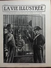LA VIE ILLUSTREE 1902 N 186 LE BRIGAND MUSOLINO DEVANT LES ASSISES DE LUCQUES