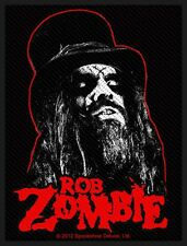 ROB ZOMBIE - Portrait - Heavy Metal Music Thrash Band Woven Patch