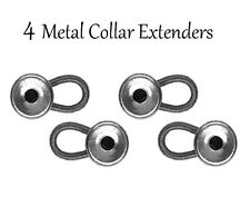 4 Metal Shirt Collar Extenders Expanders with Flexible Spring (NO PLASTIC)!