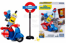 SFK Mega Bloks Minion Movie Scooter Escape