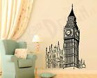 Adesivi Murali Big Ben Londra Wall Stickers Sticker Adesivo Murale Clock Tower