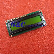 Yellow 1601 16X1 Character LCD Display Module LCM STN SPLC780D / KS0066