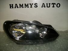 VW JETTA GOLF MK6 RH HALOGEN HEADLIGHT 10 11 12 2010 2011 2012   USED