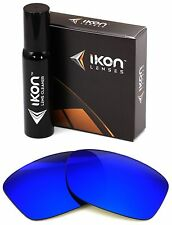 Polarized IKON Iridium Replacement Lenses For Oakley Jupiter Squared Deep Blue