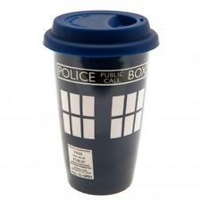 Doctor Who Ceramic Travel Mug With Silicone Lid Coffee Soup