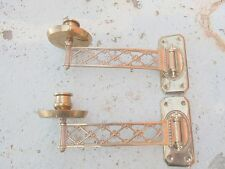 215795 Superb Antique German Art Nouveau Wall Piano Candle Sconces lampadario