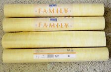 MARBURG Textured YELLOW 70572 Wallpaper WALLCOVERING 3 3/4 Double Rolls~ Germany