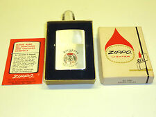 "Vintage zippo Lighter ""BACARDI"" rhum-Never struck-OVP - 1977-very rare"