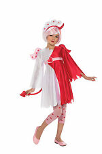 NAUGHTY n NICE Costume Red Devil White Angel Dress Wing Girl Child Large 12 14