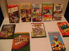SPORTS / ANIMAL BLOOPERS DVD and VHS VIDEOS LOT