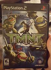 TMNT / Teenage Mutant Ninja Turtles - Sony Playstation 2 / PS2, 2007 - Dudes!
