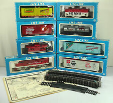 20 Pc. LIFE LIKE CAMPBELL'S SOUP HO ELECTRIC TRAIN SET (1982 LIMITED EDITION)
