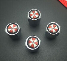 4PCS Biochemical umbrella Tire Wheel Rims Stem Air Valve Caps Tyre Cover Car