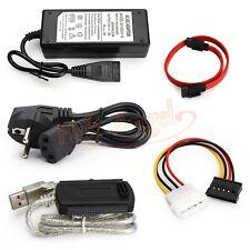 EU USB2.0 to IDE SATA S-ATA 2.5 3.5 Hard Drive HD HDD Adapter Converter Cable