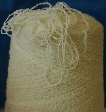 Knitting Machine / Hand Yarn Crinkle Cotton Mix 1500g DK Cream IND18.01