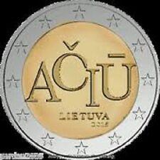 2 EURO LITUANIE 2015 UNC
