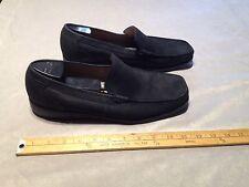MEPHISTO Men's Leather Slip On Loafer Shoes US 11 Black