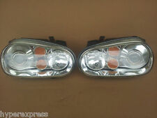 Volkswagen Golf MK4 R32 GTI XENON HID OEM Glass Headlights Head Lights