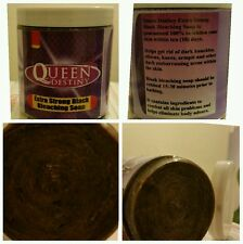 QUEEN DESTINY BLACK BLEACHING & WHITENING SKIN SOAP.WHITENS 7-10 DAYS 300G SALE!