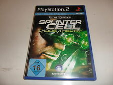 PlayStation 2  PS 2  Tom Clancy's Splinter Cell - Chaos Theory