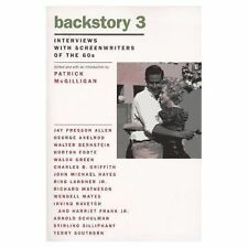 Backstory 3: Interviews with Screenwriters of the 60s (Backstory Series) by McG