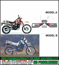 kit adesivi stickers compatibili dr 650 1990 djebel