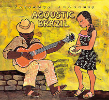(ADVANCE PROMO IN CARD SLEEVE!!!) Putumayo Presents: Acoustic Brazil CD