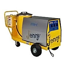 Steam Jenny Oil Fired 1500 PSI at 3 GPM Pressure Washer/Steam Cleaner 1530-C-OEP