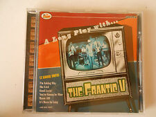 A Long Play with the Frantic V cd garage mod surf Greek band