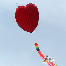 1.5m NEW power Love Heart Kite Software Good Flying Outdoor Fun Sports