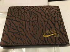 DEADSTOCK RARE NIKE SB Elephant Cement PRINT WALLET OG ELEPHANT DUNK HIGH VTG