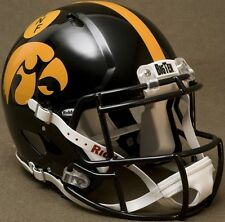 "IOWA HAWKEYES ""ANF"" NCAA Riddell SPEED Full Size Replica Football Helmet"