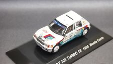 Kyosho Lv CM's 1/64 Rally Car PEUGEOT 205 TURBO 1985  Monte Carlo new CMs