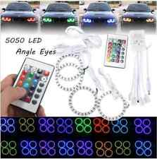 70mm RGB multi-color 5050 FLASH LED SMD 12v Angel Eyes + remote control
