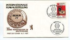 1977 Internationale Funkausstellung 100 Jahre Fernsprecher Deutschland Berlin 12