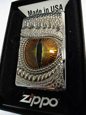 ZIPPO ® Dragon Eye Occhio Drago Nuovo/New Ovp Top