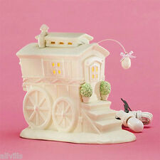 My Woodland Wagon By Turtle Creek  Springtime Stories of  Snowbunnies Dept 56